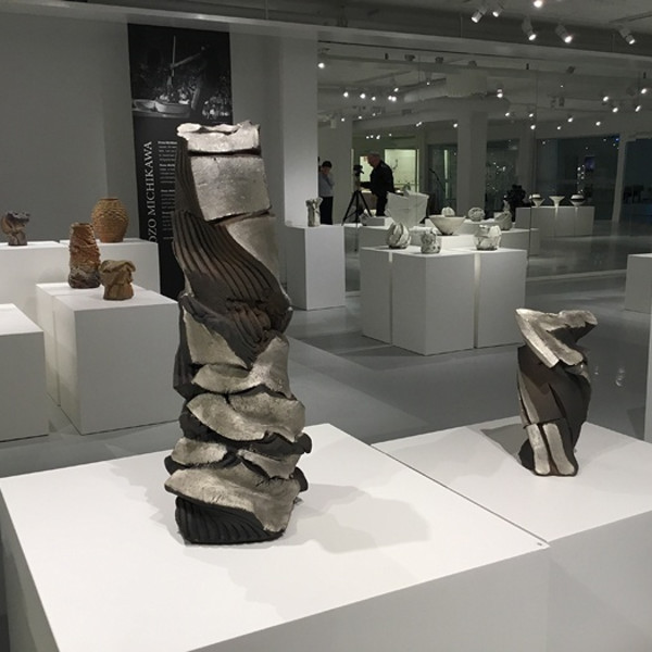 Shozo Michikawa in einer Gruppenausstellung: Masterpieces - 400 Years of Japanese Ceramics