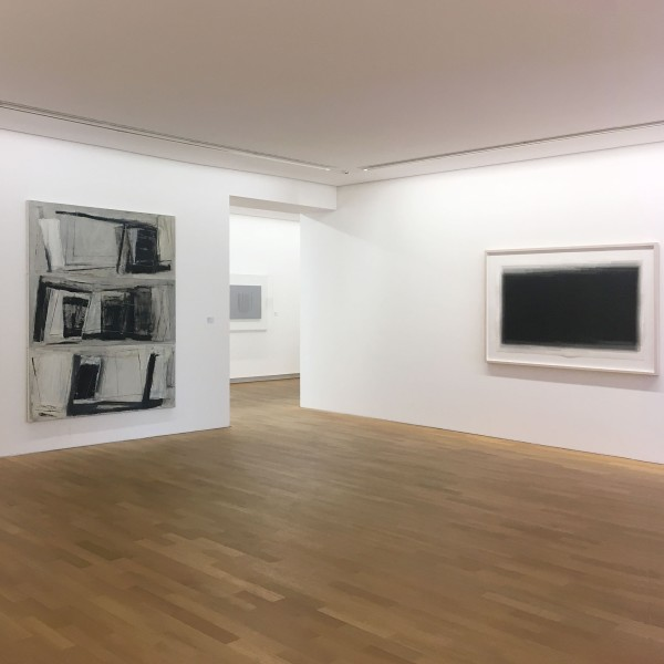 Works by Monika Huber and Joachim Bandau on view at the Museum Pfalzgalerie Kaiserslautern