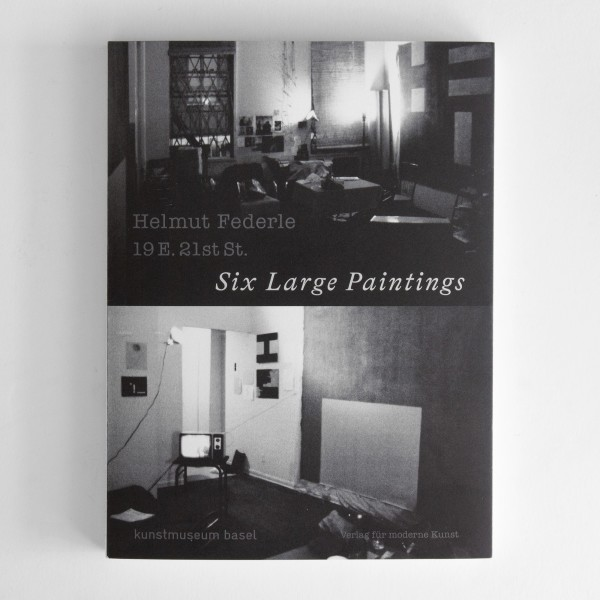 "A work by YU-ICHI published in the exhibition catalogue ""Helmut Federle. 19 E. 21st St. Six Large Paintings"""