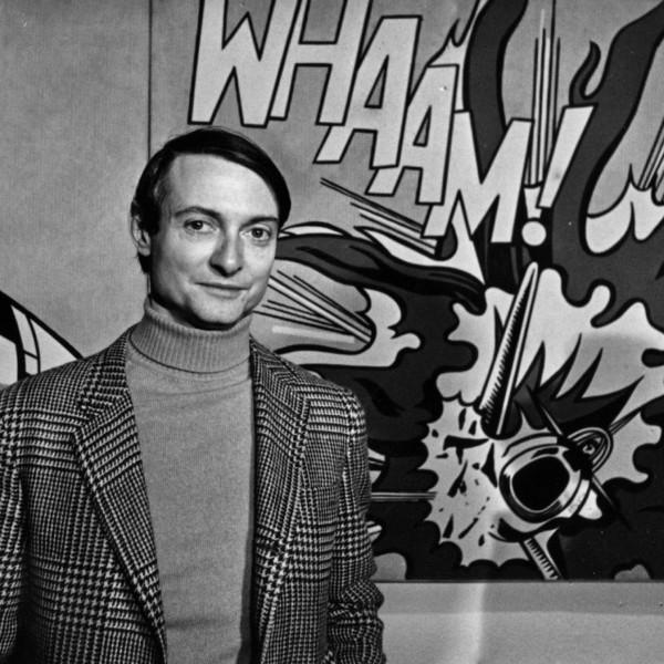 Roy Lichtenstein - Entablature III, 1976