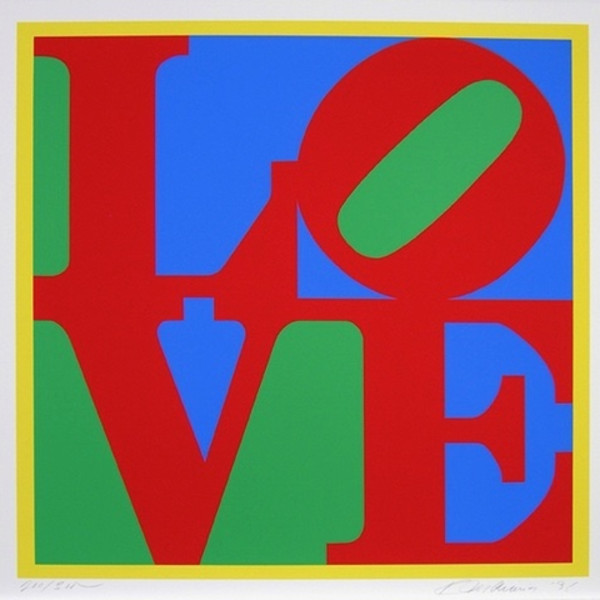 Robert Indiana - Heliotherapy Love, 1995