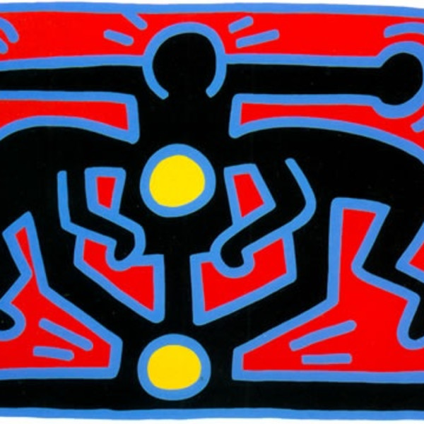Keith Haring - Flowers 1, 1990