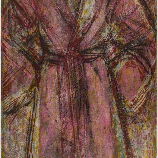 Jim Dine - Rosy Robe, 1998