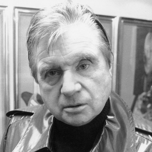 Francis Bacon - Portrait of Michel Leiris 1976, 1978