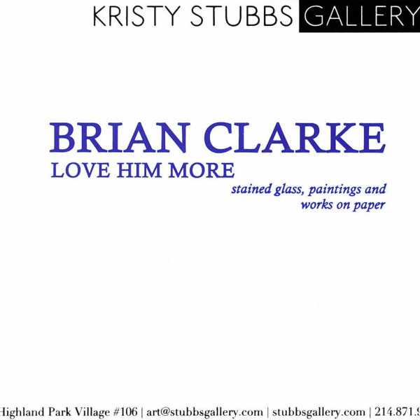 Love Him More, Brian Clarke