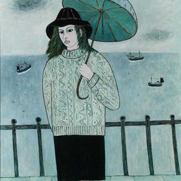 Joan GILLCHREST - LIGHT SHOWER AT PENZANCE
