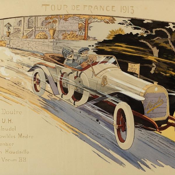 Marguerite Montaut - 'GAMY' - LA TOUR DE FRANCE AUTOMOBILE , 1913