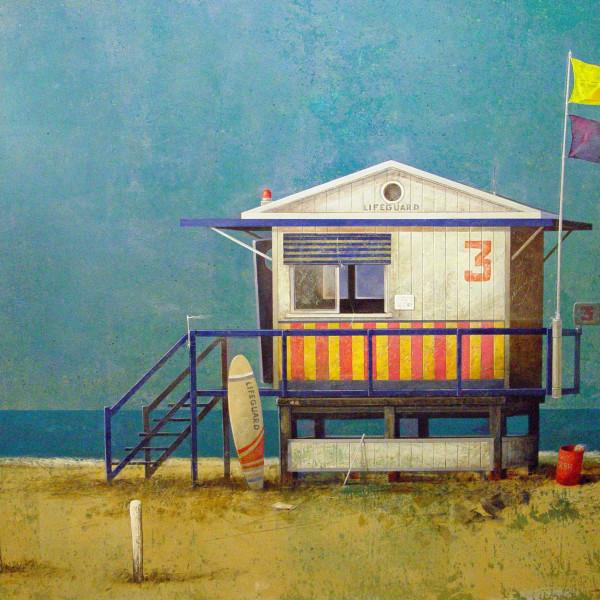 Manuel López Herrera - Beach House II, 2016