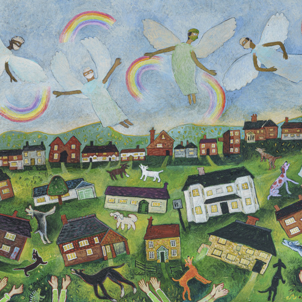 Anna Pugh - Clapping For The Angels, 2021