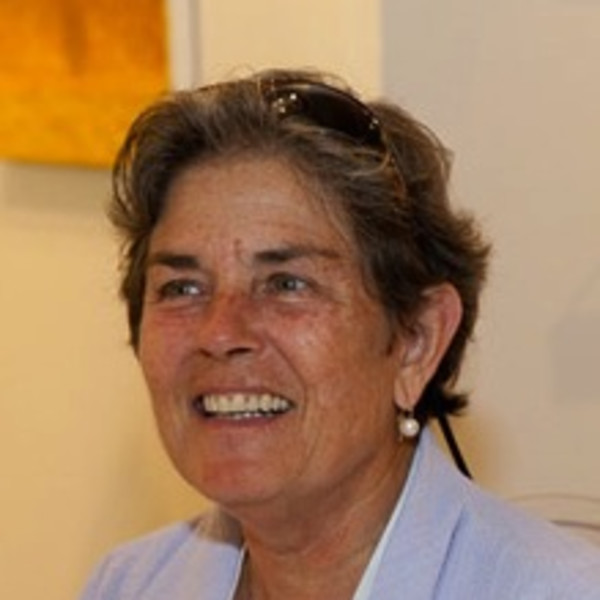 Photograph of Kathryn Markel, the founder and principal of Kathryn Markel Fine Arts since 1975.