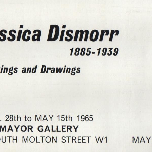 JESSICA DISMORR