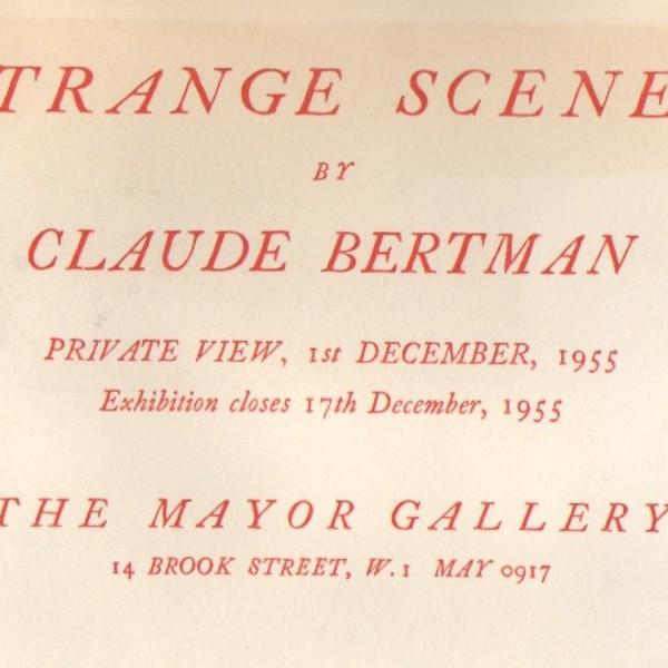 CLAUDE BERTMAN