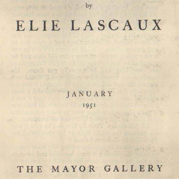 ELIE LASCAUX