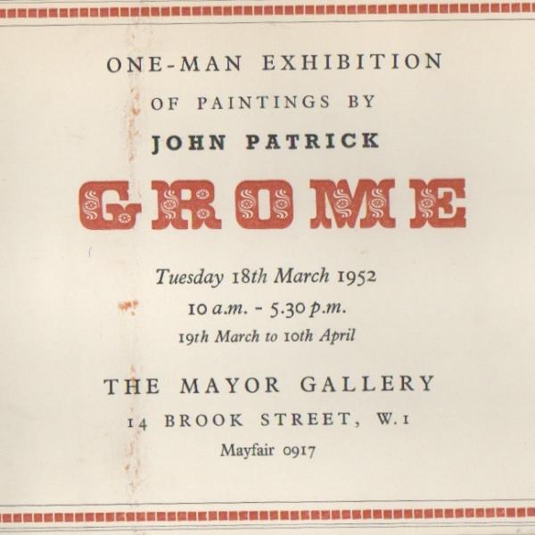 JOHN PATRICK GROME