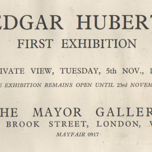 EDGAR HUBERT