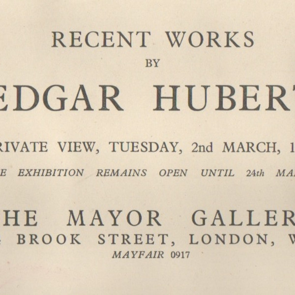 EDGAR HUBERT