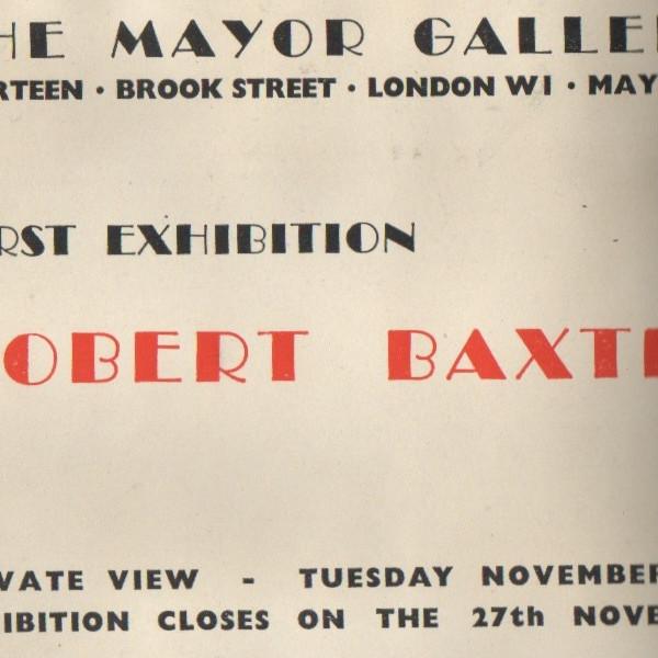 ROBERT BAXTER