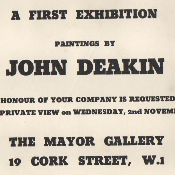 JOHN DEAKIN