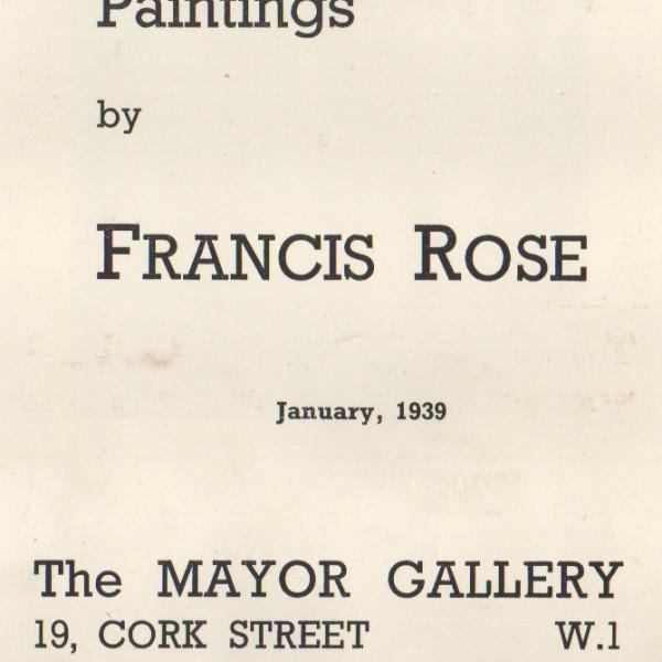 FRANCIS ROSE