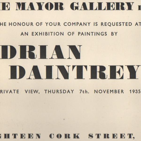 ADRIAN DAINTREY