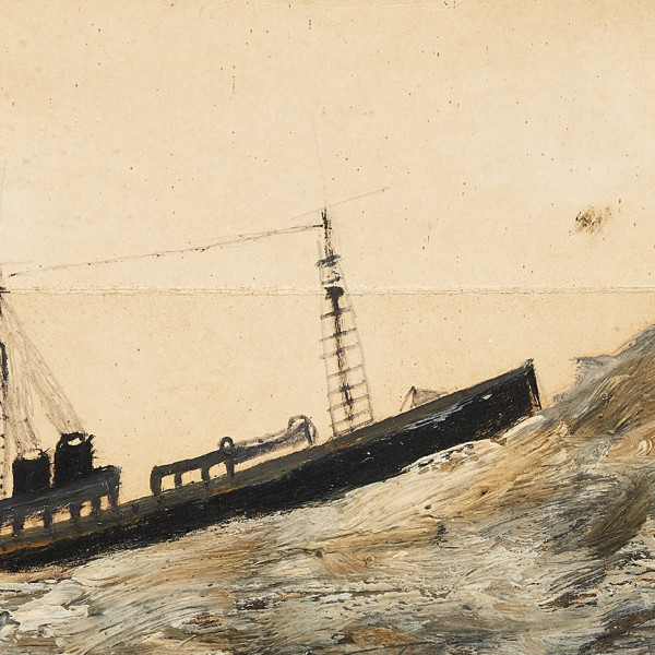 BRITISH ART FAIR Alfred Wallis (1855-1942) from The Collection of the Late Ray Hughes (1946 – 2017)