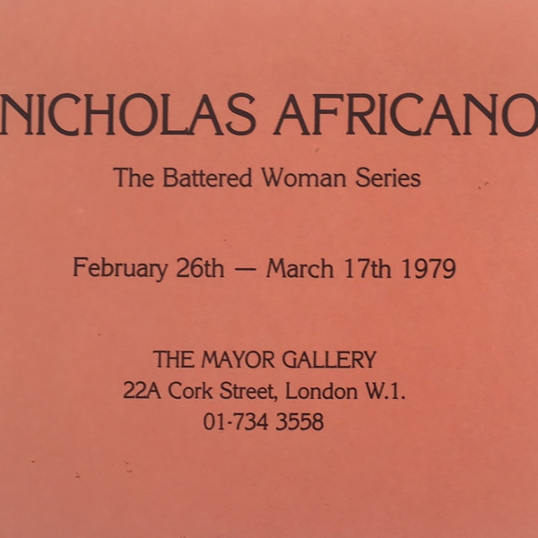 NICHOLAS AFRICANO The Battered Woman Series