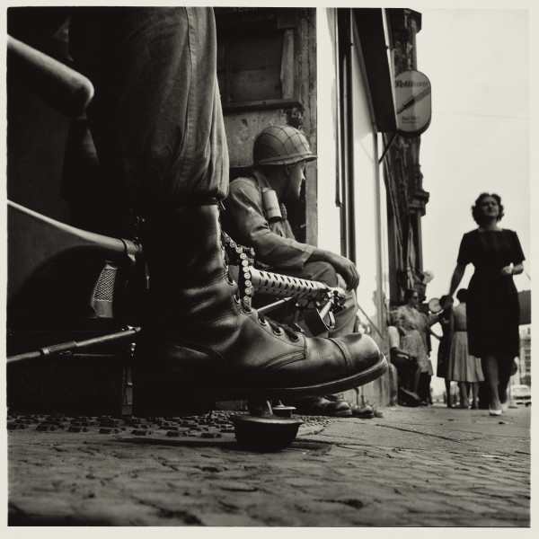 Don McCullin, The Battle for the City of Hue, South Vietnam, US Marine Inside Civilian House, 1968 © Don McCullin