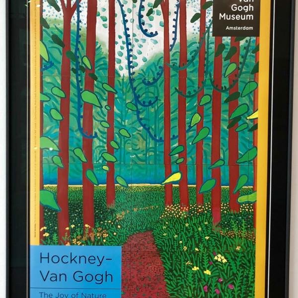 David Hockney - Hockney - Van Gogh 'The Joy of Nature' , 2019