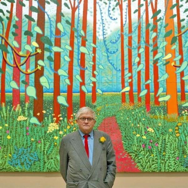 David Hockney at the Royal Acadamy