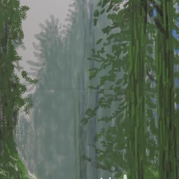 Hockney Yosemite III