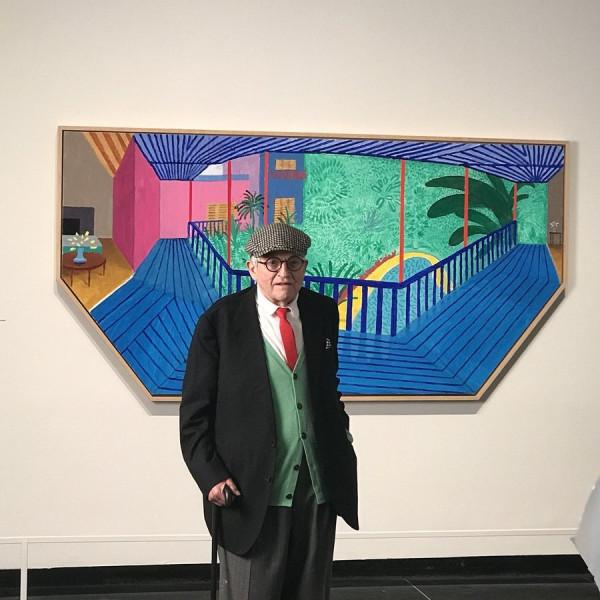 Hockney at the Met New York