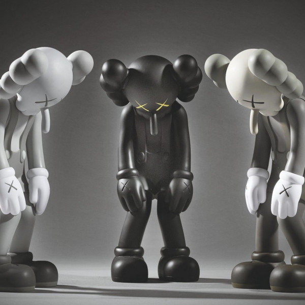 KAWS - Small Lie - Three Works, 2017
