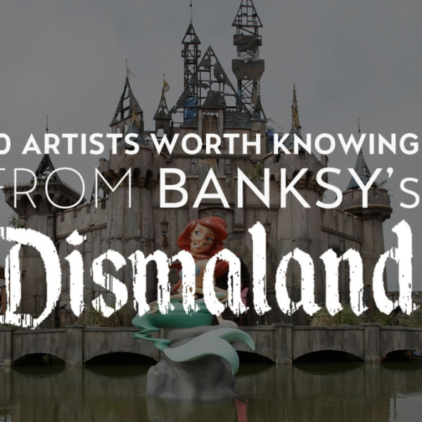 10 artists worth knowing from banksys 'Dismaland'