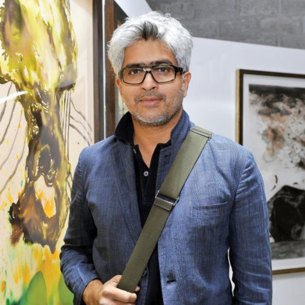Glimpses of Owais Husain's work at START Doha Art Fair