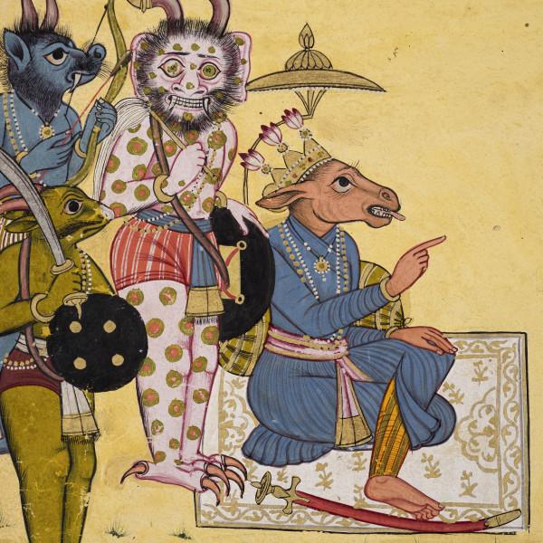 Shangri Ramayana (detail)