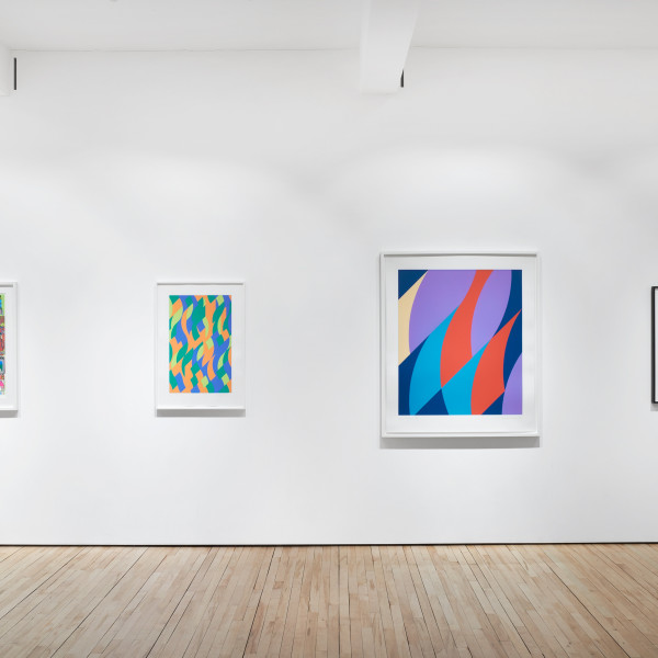 COLOUR / BALANCE Sonia Delaunay | Lothar Goetz | Andre Lanskoy | Sol LeWitt | Eduardo Paolozzi | Bridget Riley | Dan Shaw-Town & William Stein