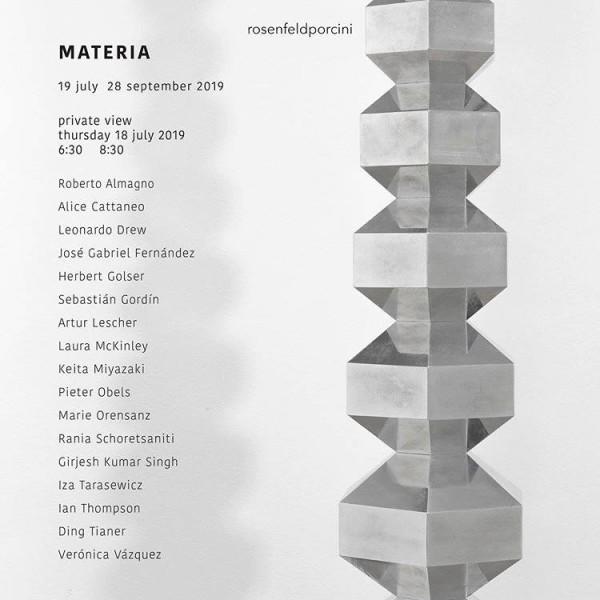 MATERIA — PARTICIPATING ARTIST INCLUDE, RANIA SCHORETSANITI