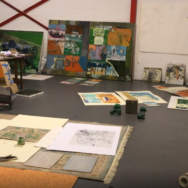 Iain Nicholl's studio in Yorkshire