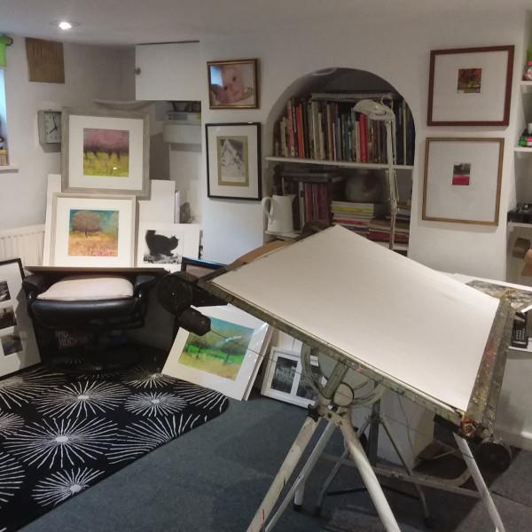 Sue Howells' studio in Birmingham