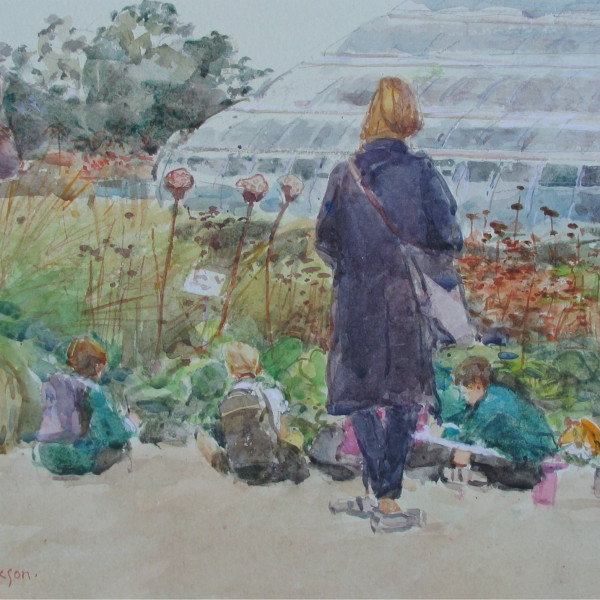 The School Outing at Wisley , August 2014