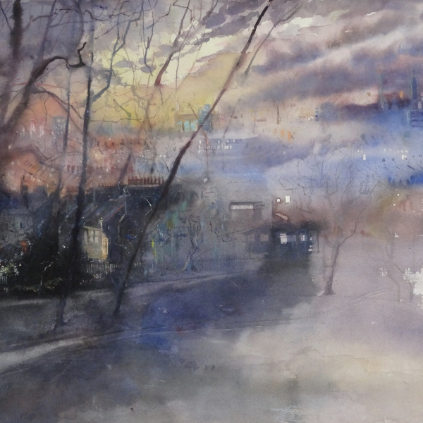 Sophie Knight, Day Turns to night at Telegraph Hill, London