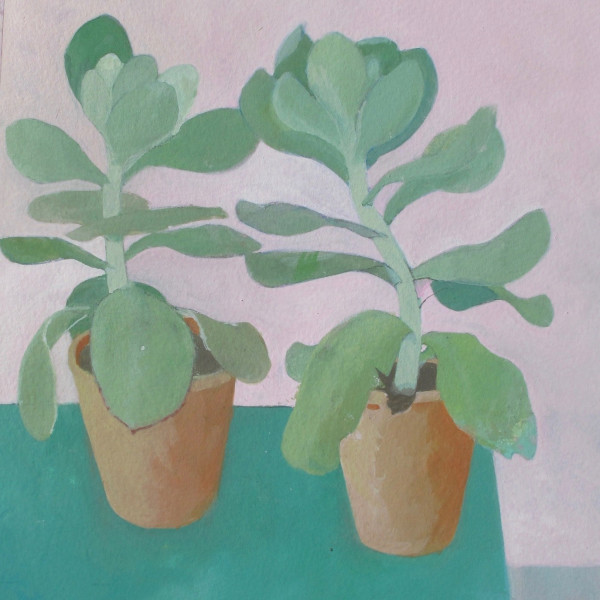 Wendy Jacob, Pink and Green