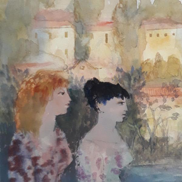 Two Ladies in Verona