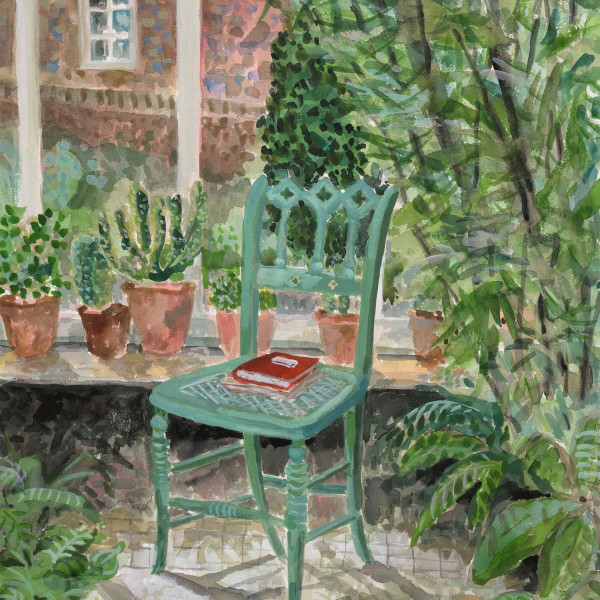 Conservatory at Monk's House, Home of Virginia & Leonard Woolf