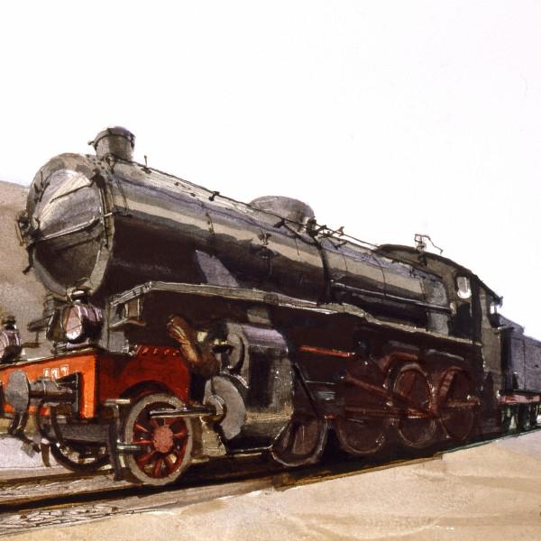 Locomotive, Cagliare, Sardinia
