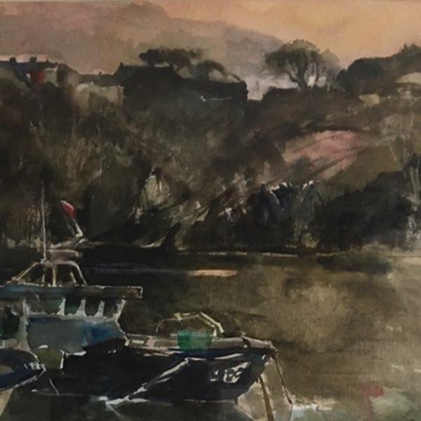 Lobster Boats, Pembrokeshire