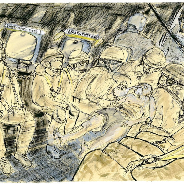 WORKSHOP: Stranger than Fiction: Reportage & Documentary Drawing