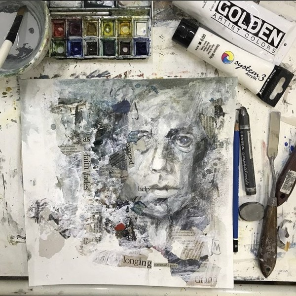 WORKSHOP: Figuration to Abstraction: Acrylic & Collage
