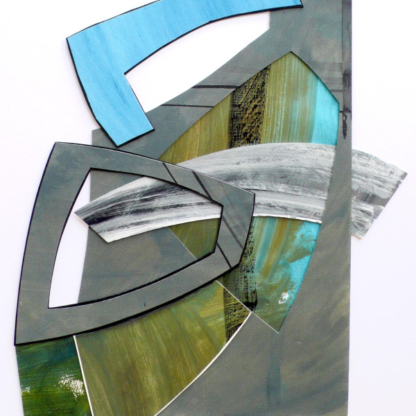 WORKSHOP: Abstract Assemblage Paintings with Lisa Traxler RWS