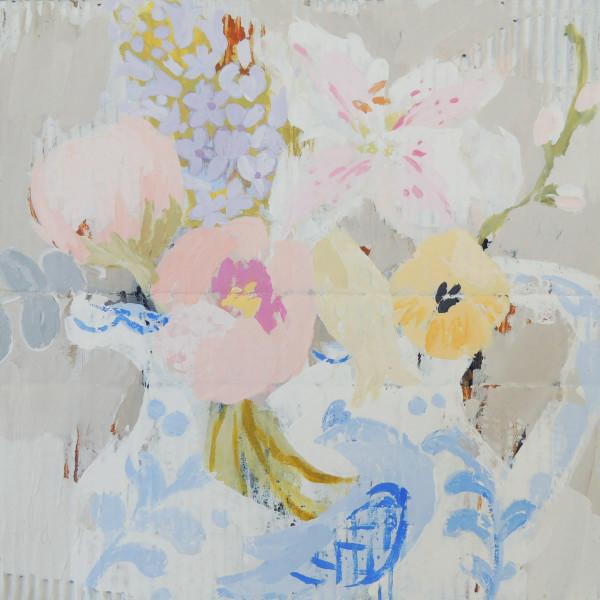 Christie Bird ARWS, Bird Jug 1, acrylic on cardboard